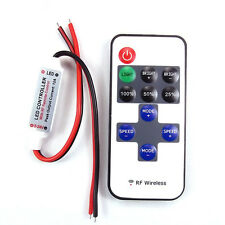 RF Wireless Remote Controller Mini Dimmer Turn your custom RC LED Lights on/off