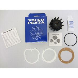 Volvo Penta Sea Water Cooling Pump Impeller Kit New OEM 4.3L,5.0L,5.7L 3862281