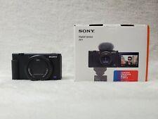 Sony ZV-1 Digital Vlogging Camera Black FAST FREE PRIORITY SHIPPING!