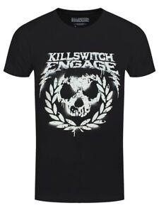 Killswitch Engage KSE T-shirt Skull Spraypaint Men's Black