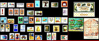 BRAZIL 1976 ALL STAMPS ISSUED, FULL YEAR, SCOTT 1423~1492 VALUE $ 32.10, ALL MNH