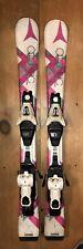 90 cm Atomic girl's junior skis + bindings (optional boots) *WAXED*