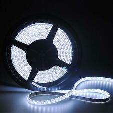 5M 12V 300 Cool White LED Flexible decorate Strip Light Tape Roll Ribbon Lamp MT