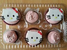 Plastic Cupcake Boxes for 6 cupcakes- pack of 20