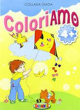 Collana Giada Coloriamo aquilone 4+ - Salvadeos - Libro nuovo in offerta !