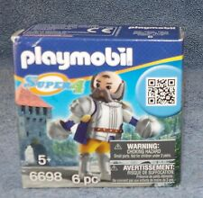 PLAYMOBIL SUPER 4 KNIGHTS FIGURE SET #6698 ROYAL GUARD SIR ULF