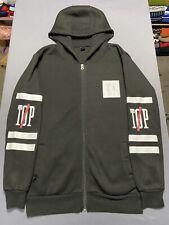 TWENTY ONE PILOTS Zip Hoodie Sweatshirt Jacket Women's SMALL S Black White RARE