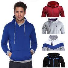 Markenlose Herren-Kapuzenpullover & -Sweats aus Baumwolle mit normaler Passform