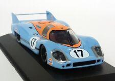 Minichamps 1/43 Scale - Porsche 917L Gulf 24H Le Mans 1971 Siffert Bell #17 Car