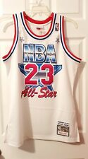 Michael Jordan Mitchell and Ness Authentic 1991 All Star Bulls Jersey Sz 40 Med