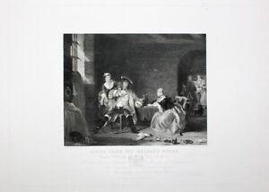 Gilbert Stuart Newton Halifax Chelsea Beggar's Oper Macheath Lucy Polly Kerker