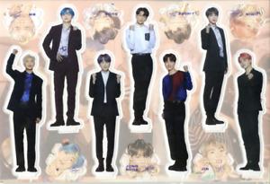 BTS Standee Set-Miniature Standing Paper Dolls 04 Bangtan Boys KPOP