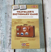 Tactic Travellers Dictionary Travel Game NEW And SEALED