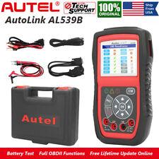 Autel AL539B Code Reader OBD2 Diagnostic Scanner Changing System Battery Test