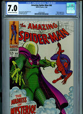 Amazing Spider-man #66 CGC 7.0  1968 Silver Age Marvel Mysterio K17 Amricons