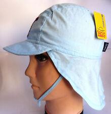 KU 49 50 51 52 53 54 55 56 57 58 Nackenschutz Sonnen Sommer Cap Kappe Junge blau