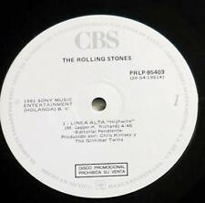 """THE ROLLING STONES : Highwire 12"""" PROMO MAXI 45 vinyl MEXICO PRLP-95403"""