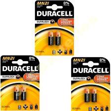 6 x DURACELL MN21 A23 k23A LRV08 Alkaline Battery 12v (3 x 2 packs)