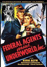 FEDERAL AGENTS VS UNDERWORLD, INC.  - Cliffhanger serial  2 disc DVD- KIRK ALYN