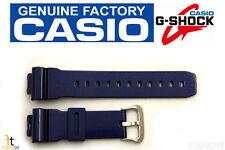 CASIO DW-6900CC-2 G-Shock Original 16mm Blue (Glossy) Rubber Watch Band Strap