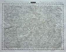Streit: Kupferstich Landkarte Niederösterreich Wachau Krems Donau; um 1810