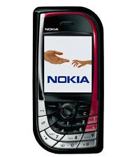 Nokia 7610 - Black/red (Unlocked) Smartphone Bluetooth Free Shipping
