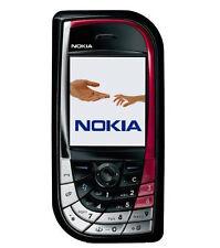 Nokia 7610 - Black/red (Unlocked) Smartphone Bluetooth Free Shipping