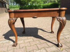 OLD COFFEETABLE IN ENGLISH CHIPPENDALE STYLE. WORLDWIDE FREE SHIPPING