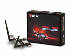 MSI AC905C Dual Band Wireless 802.11ac/Bluetooth PCI-E x1 Card for Desktop PC