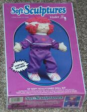 """Soft Sculpture 18"""" Doll Kit - Violet - Sealed"""