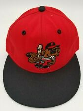 Vintage Portland Beavers Pro-Line Fitted Hat Deadstock Rare 6 1/2 90's Defunct