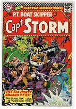Capt. Storm 12 P.T. Boat Skipper Kubert cover Ross Andru 1966 DC Comics (j#2155)