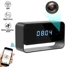 WIFI Camera Clock HD 1080P Wireless Security Cam for Home Cameras