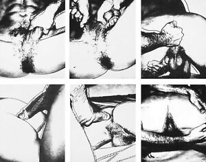 Andy Warhol Sex Parts #5 Canvas Print 16 x 20
