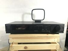Sony St-Jx401 Digital Am/Fm Stereo Tuner, Digital Synthesizer Tested Works