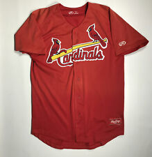 St. Louis Cardinals Game Used Jersey #21