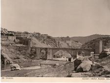 Hauser y Menet. Espagne, Toledo, Panorama Vintage print.  Photomécanique  15