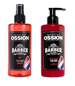 Morfose Ossion Barber Eau De Parchment Cologne & Barber Elixir after Shave Balm