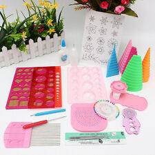NEW 19in1 Paper Quilling DIY Tool Kit Craft Full Set TOOLS Quilling Work Board