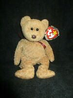 Ty Beanie Baby CURLY THE BEAR with errors