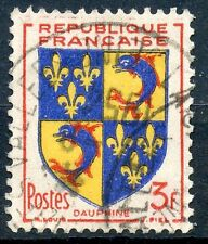 STAMP / TIMBRE FRANCE OBLITERE N° 954  ARMOIRIE / DAUPHINE