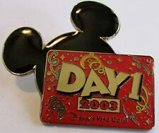 Disney Visa Card Day 1 Member Mickey Mouse Ears Pin
