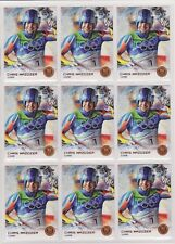(9) 2014 TOPPS OLYMPIC CHRIS MAZDZER LUGE BRONZE CARD #60 LOT ~FIRST MEDAL EVER!