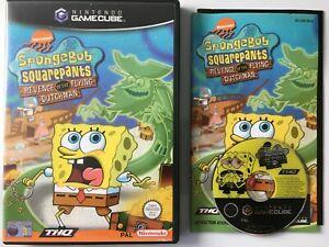 Spongebob Squarepants Revenge of the Flying Dutchman Gamecube C358V1