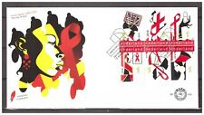 Netherlands 2010 FDC 618 Stop aids now ribbon