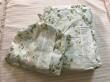 NWT Rachel Ashwell CLUSTER F/Queen Duvet Cover & 2 Shams Shabby Chic Couture