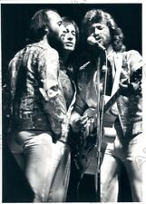 1979 Pop Music Group Bee Gees Barry & Robin & Maurice Gibb Press Photo