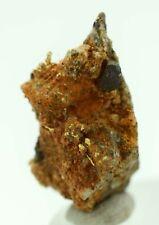 1.9cms NATIVE GOLD OF THE INCAS WIRE CRYSTAL QUARTZ PERU MINERAL SPECIMEN L417