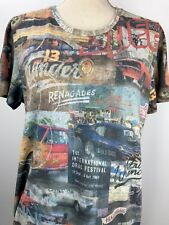 Rockerbox Drag Racing T Shirt Size Large Mustang Camero Chevelle GTO