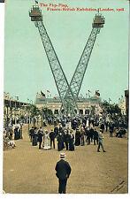 VALENTINES POSTCARD THE FLIP FLAP FRANCO BRITISH EXHIBITION 1908